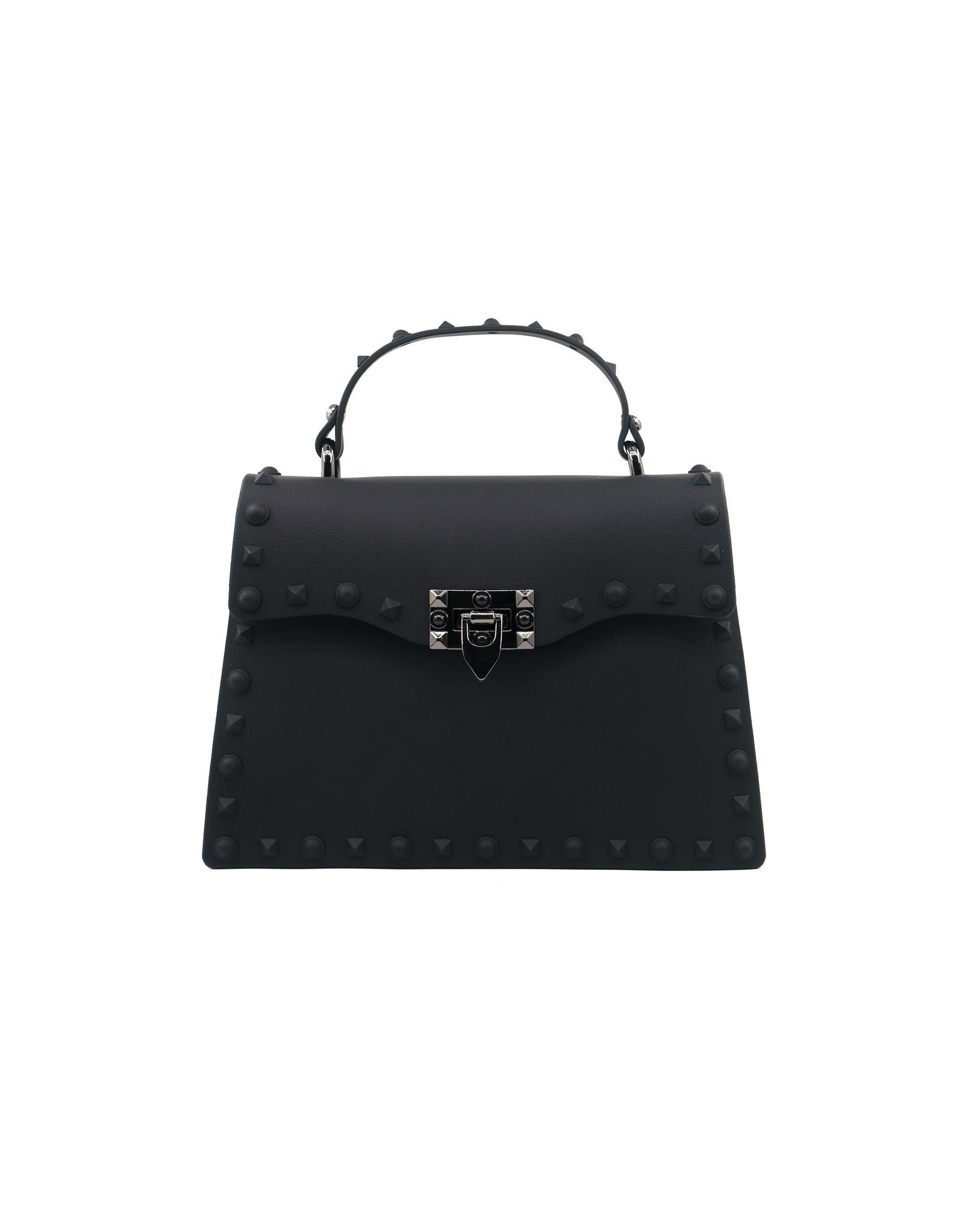 Black Jelly Valentine Bag