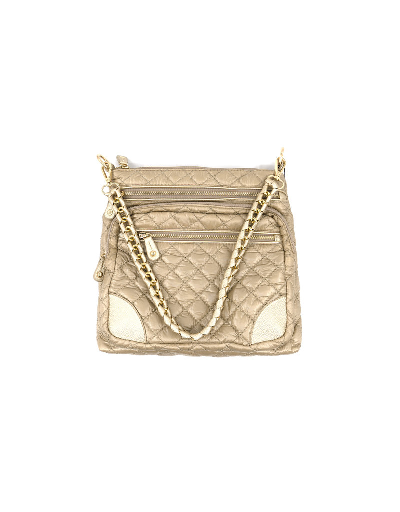 Gold Quilted Bag
