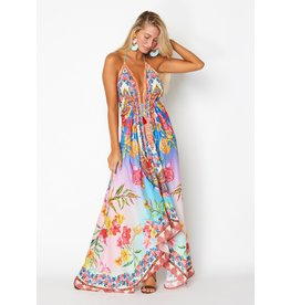 Ranees Hawaii Escape Handkerchief Maxi