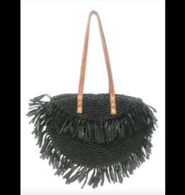 Black Bella Straw Bag