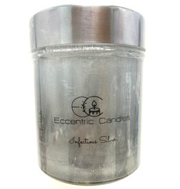 Eccentric Candles Infectious Silver Gel Candle