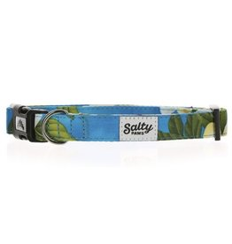 Salty Paws Blue Floral Dog Collar