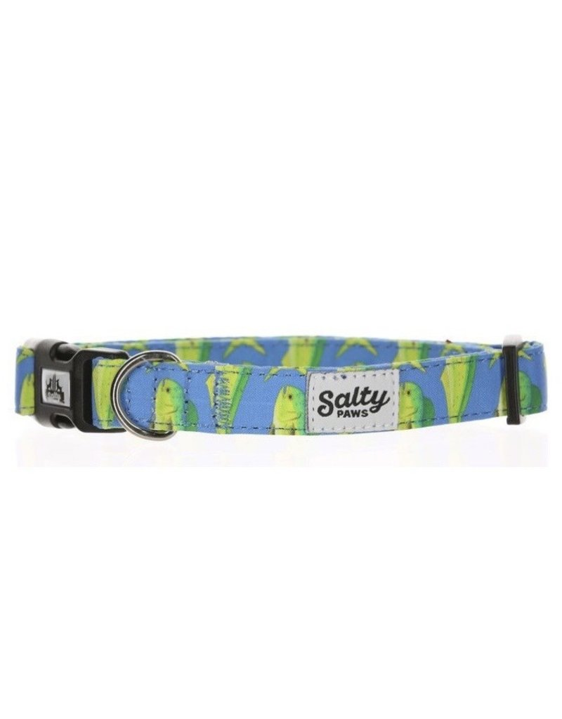 Salty Paws Blue Mahi Dog Collar