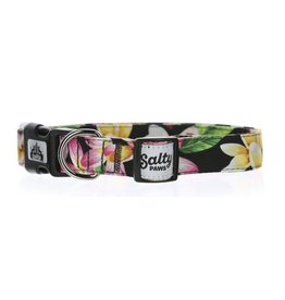 Salty Paws Black Hawaii Dog Collar