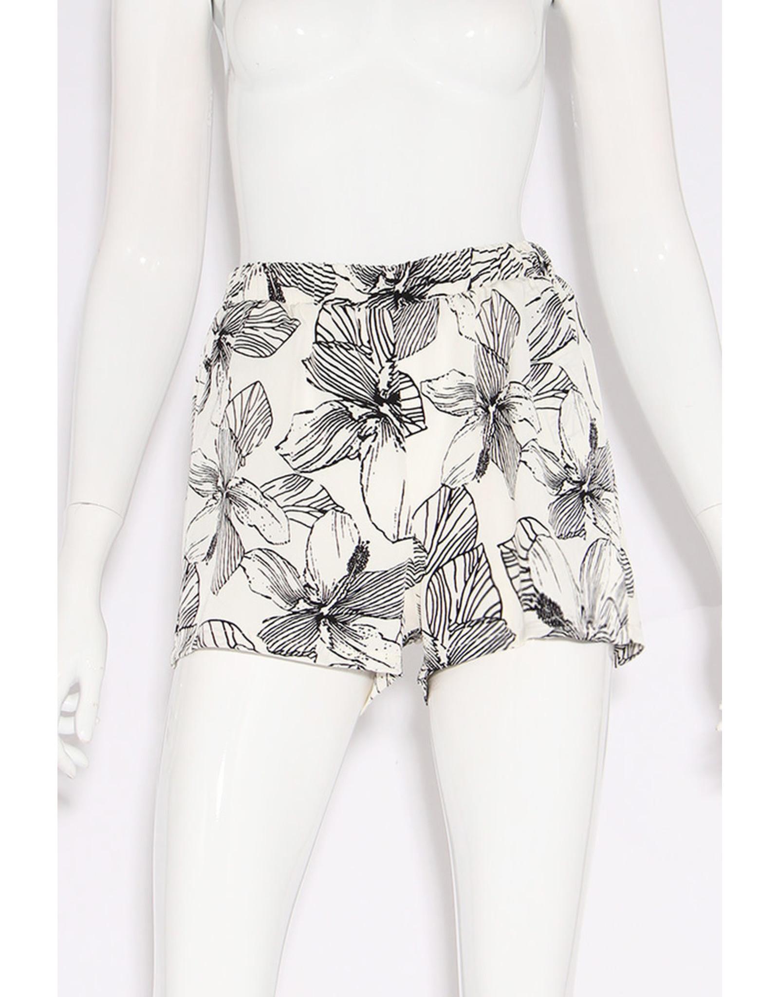 Azalea Print Shorts