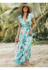 XIX Palms Acapulco Wrap Dress
