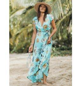XIX Palms Acapulco Wrap Dress