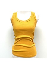 Sunflower Sequin Racer Tank