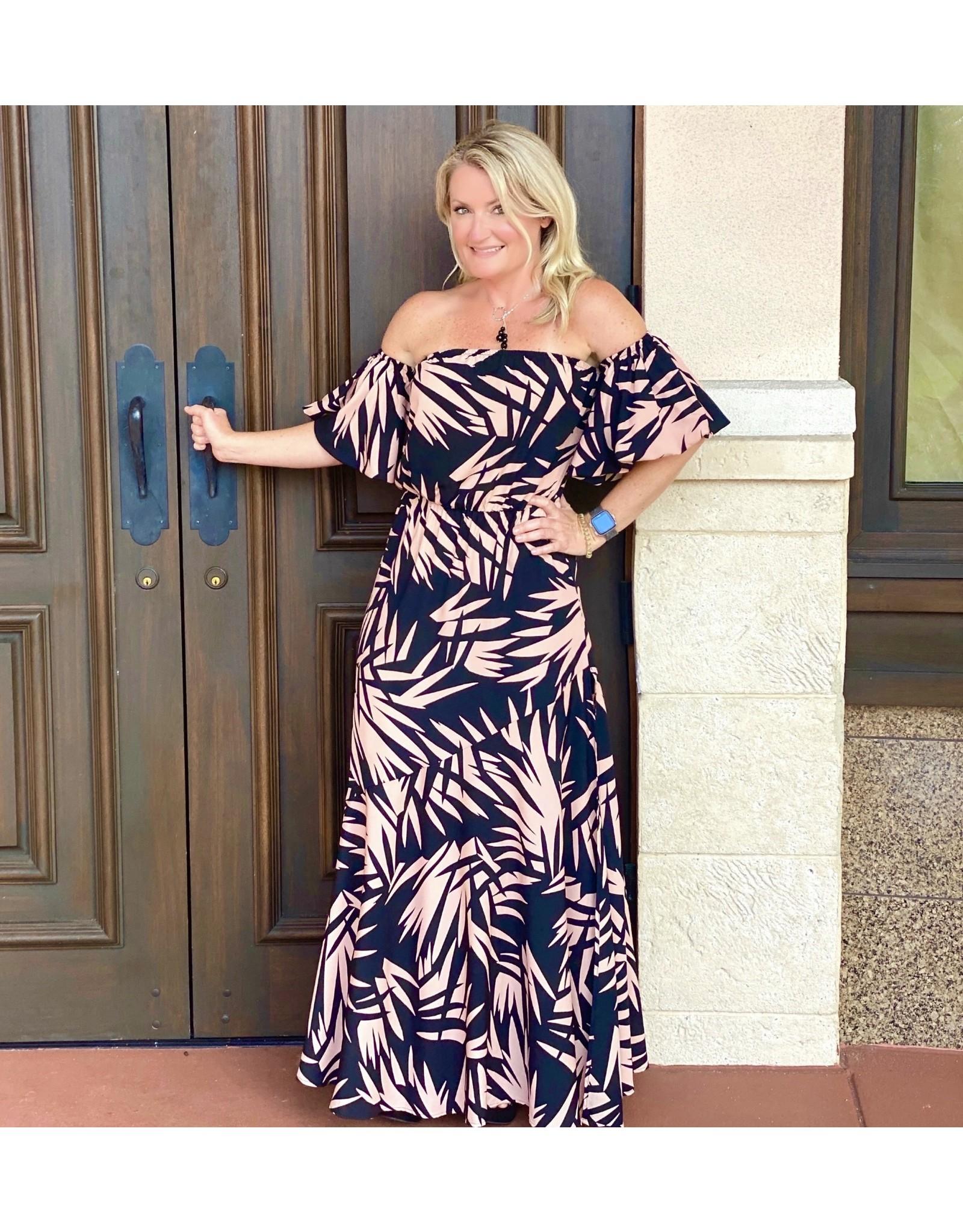 Antonia Bubble Sleeve Maxi