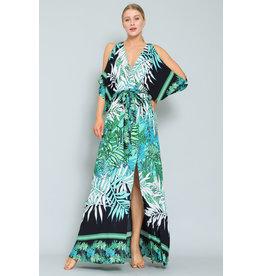 Lulu Kimono Sleeve Maxi