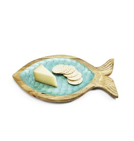 Shimmering Scales Fish Tray
