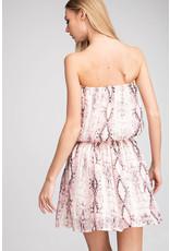 Glam Pink Jodi Smocked Dress