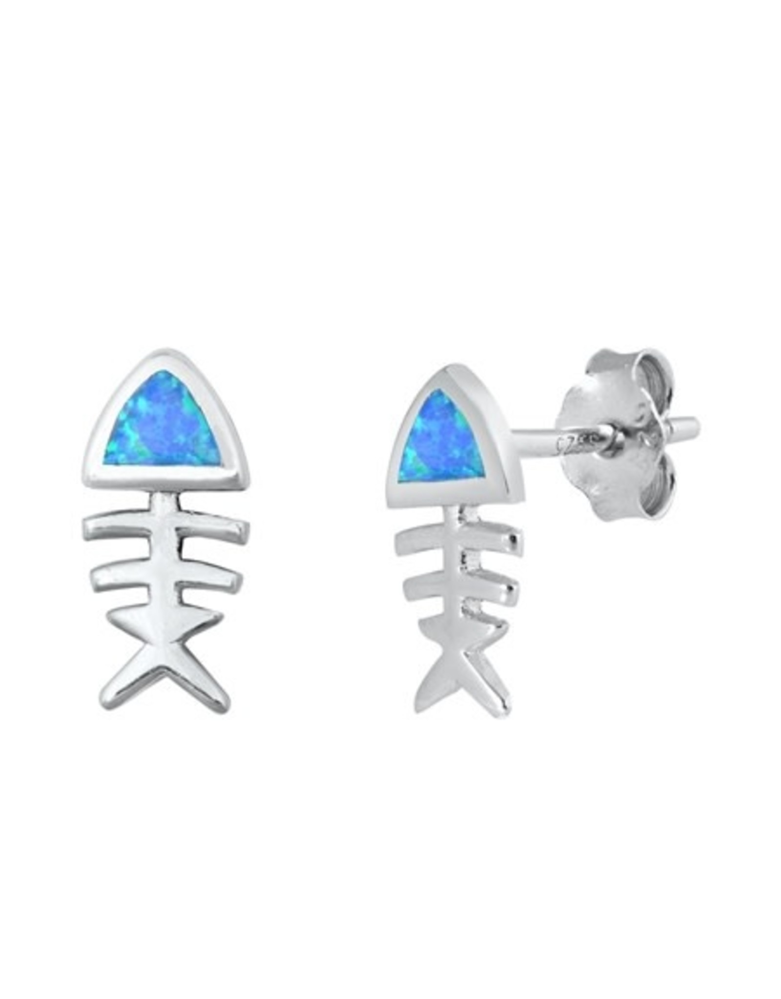Opal FIsh Earrings