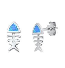 Opal FIsh Earrings