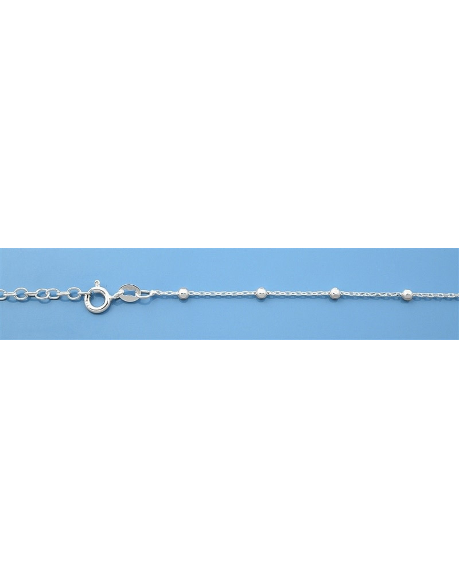 Sterling Thin Anklet