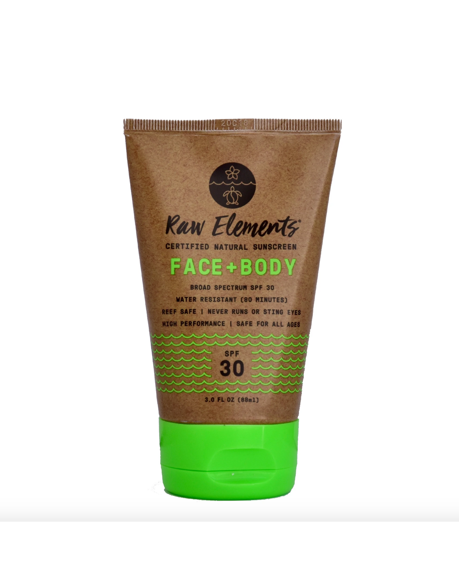 Raw Elements Face & body SPF 30+ Tube