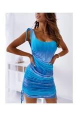 She Star Blue Daze Tank Dress
