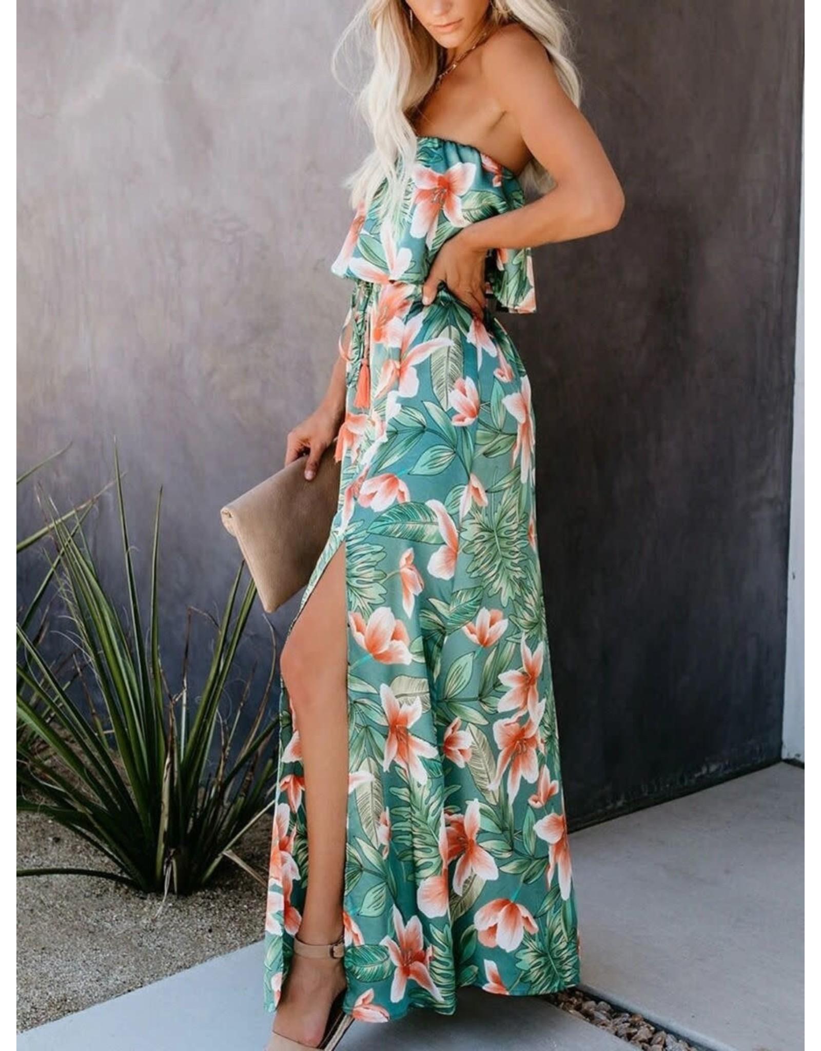She Star Luana Tropical Midi