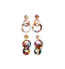 Multicolored Dangle Earrings