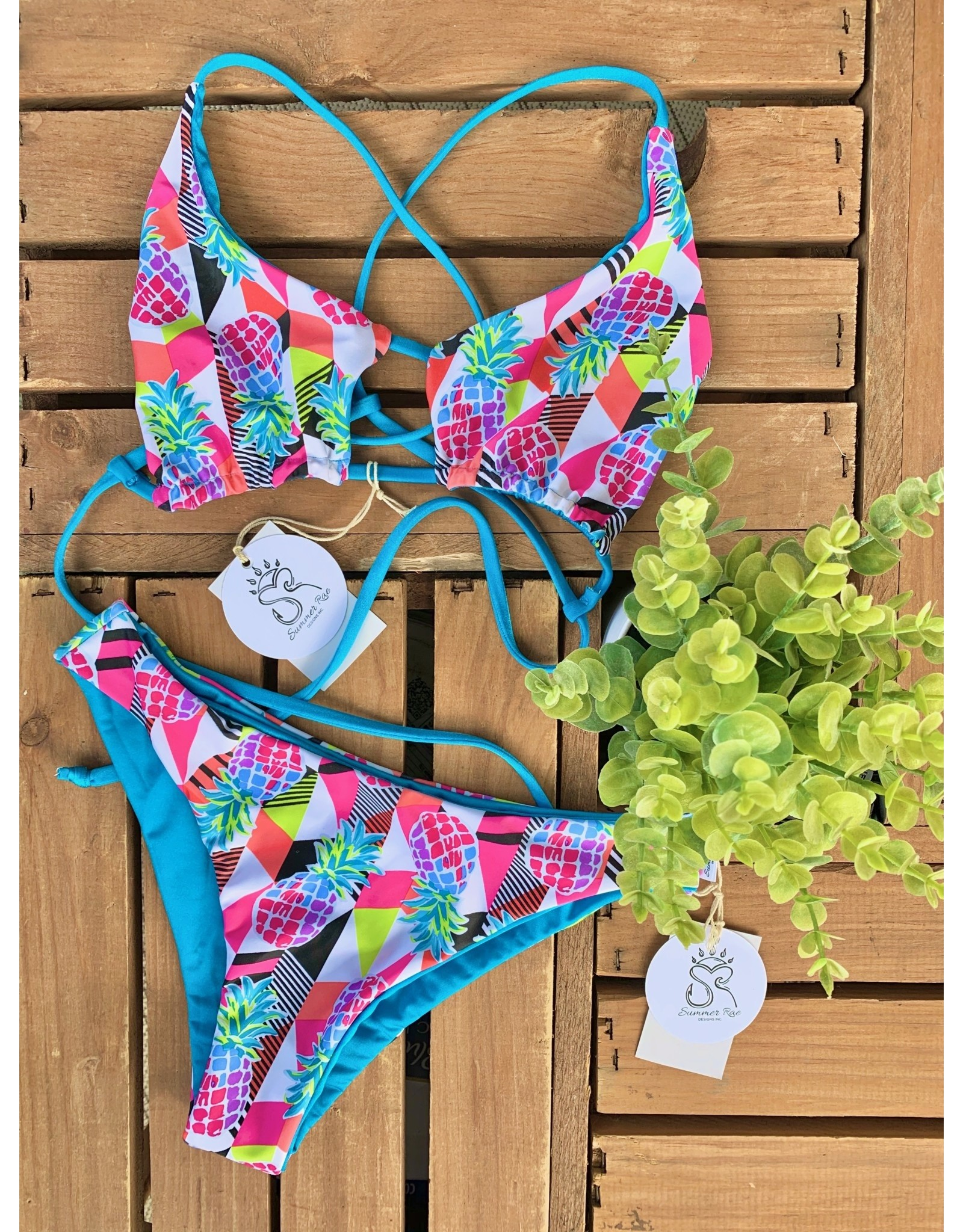 Summer Rae Designs BL/Pineapple W/E Top