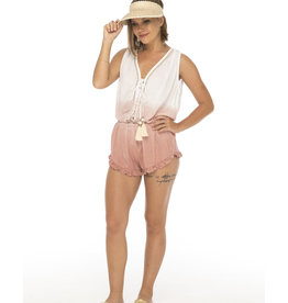Skemo Pink Day Dream Romper
