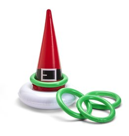 Inflatable Santa's Hat Ring Toss