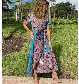 Daniella  Wrap Dress