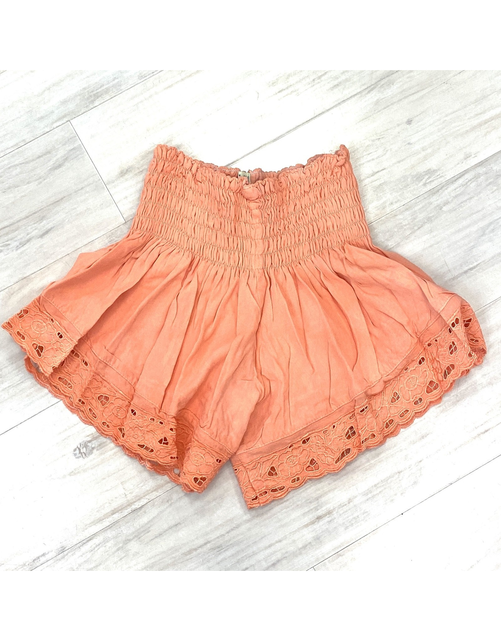 Sherbert Embroidered Shorts