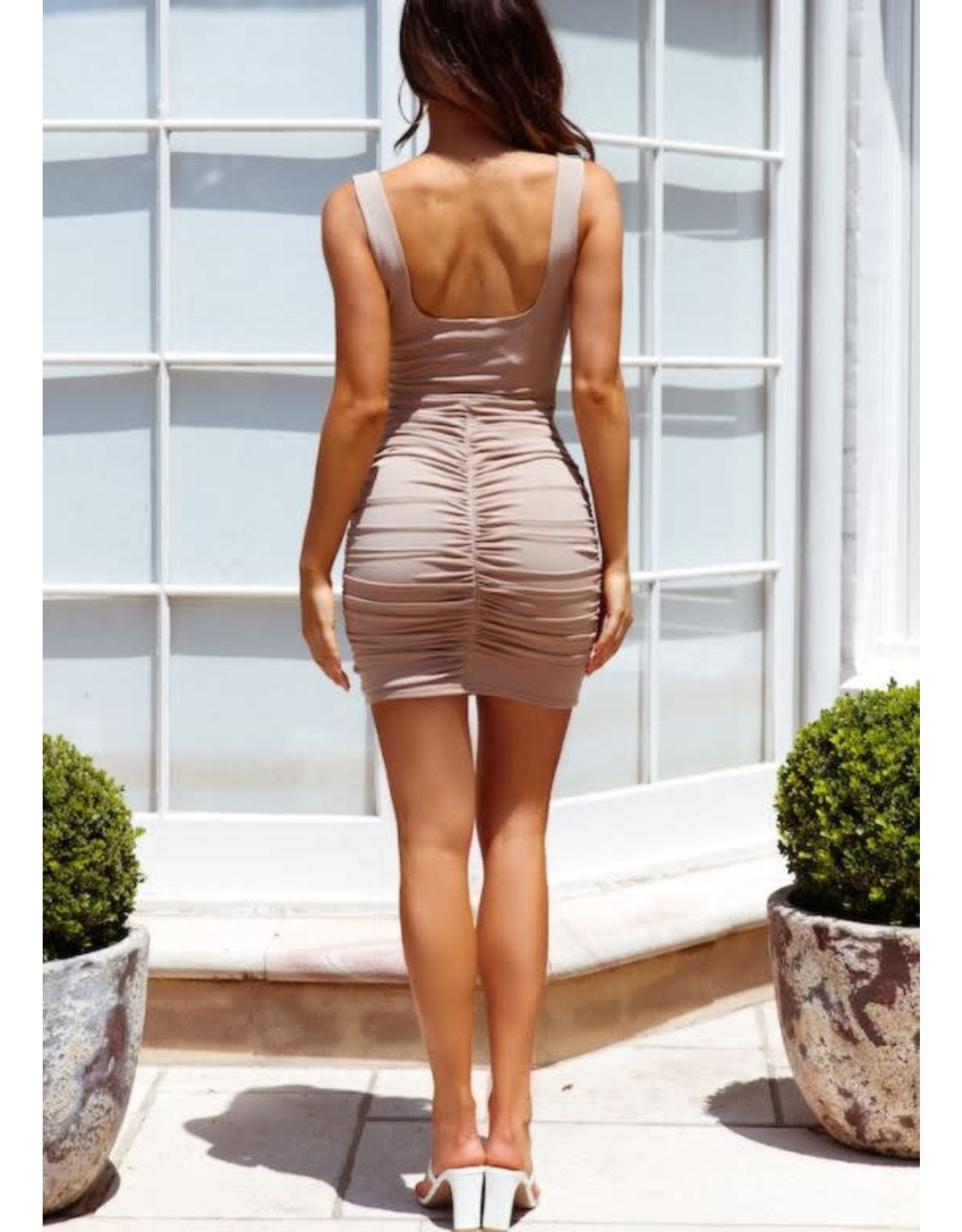 One & Only Collective Nude Avery Bodycon