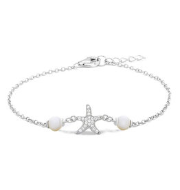 Starfish & Pearl Anklet