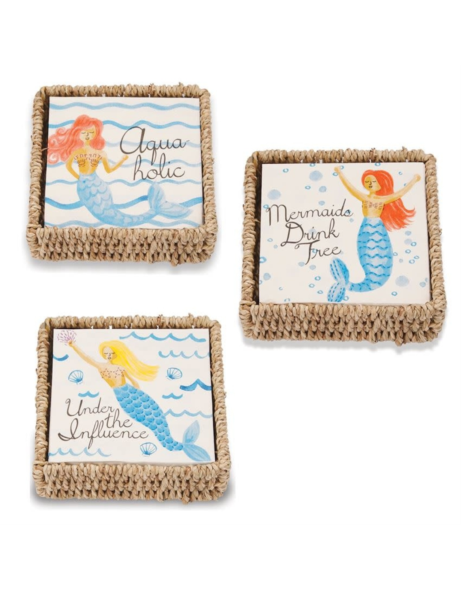 Mermaid Napkin Basket