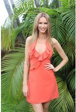 Coral Rumberita Dress