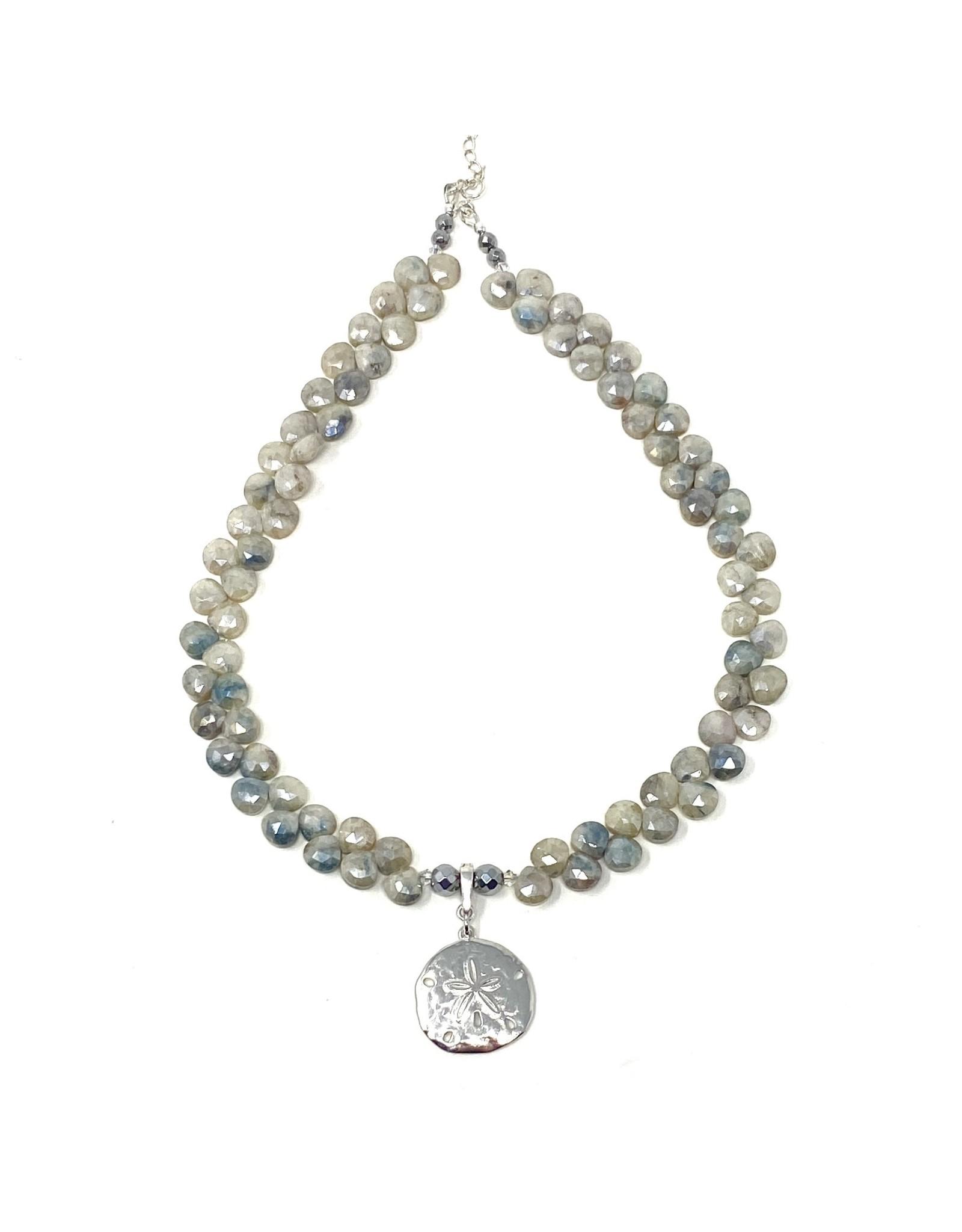 Briolette Silverite Necklace