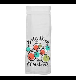 Twisted Wares Balls Deep Hand Towel