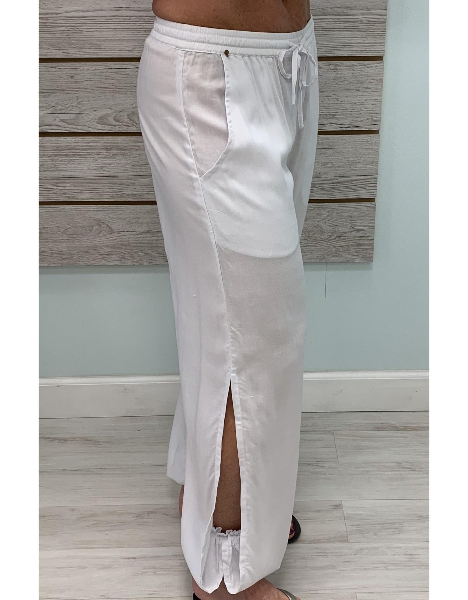 Skemo White Babucha Pants