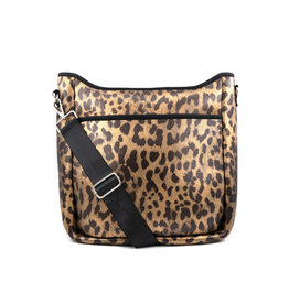 Leopard Neoprene Crossbody