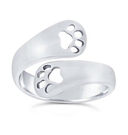 Rio Grande Sterling Double Paw Ring