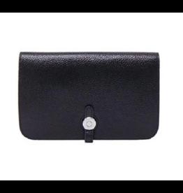 LG Black Jackie Leather Wallet