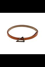 Brown Leather Essie Belt