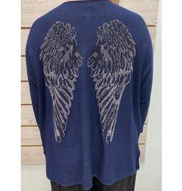 Blue Angel Wing Sweater