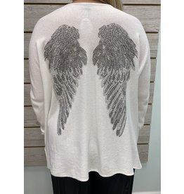 Ivory Angel Wing Sweater