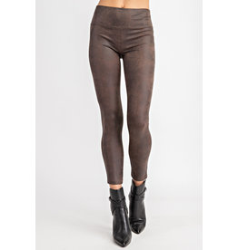 Glam Brown Ivy Leggings
