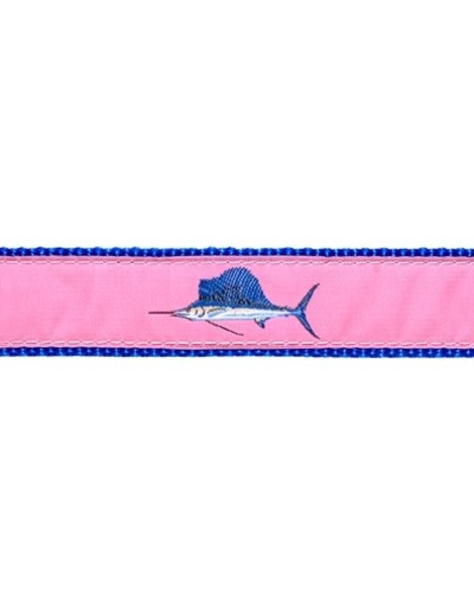 Preston Ribbons Pink Sailfish Dog Lead