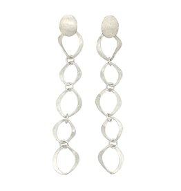 Balaam Sterling Large Link Drop Earrings