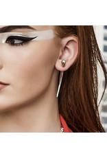 Balaam Sterling Bullet Tusk Earrings