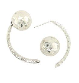 Balaam Reversible Ball Arch Earrings