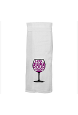 Twisted Wares Pour Choices Hand Towel