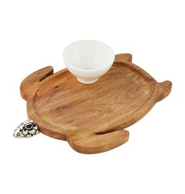 Turtle Tray & Dip Set