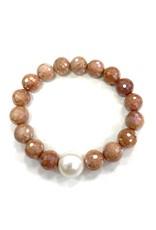 Sunstone & FWP Bracelet