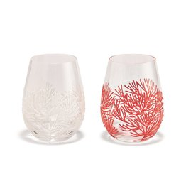 Coral Reef Wine Glass